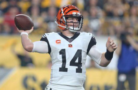 Andy Dalton, Week 17 NFL bets, Cincinnati Bengals
