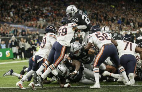 Raiders, Jacobs, London, Week 5, Offensive Rookie of the Year 2019