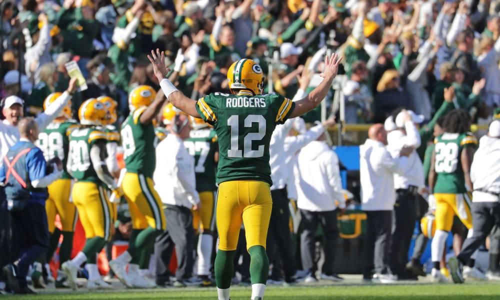 Aaron Rodgers, NFL Week 5